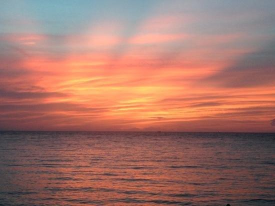 My Way Bungalows: one of many beautiful sunsets