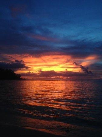 My Way Bungalows: sunset