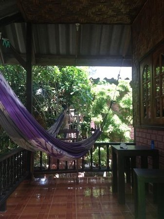 My Way Bungalows: hammocks
