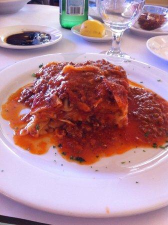 Aurora Ristorante Italiano : Lasagne