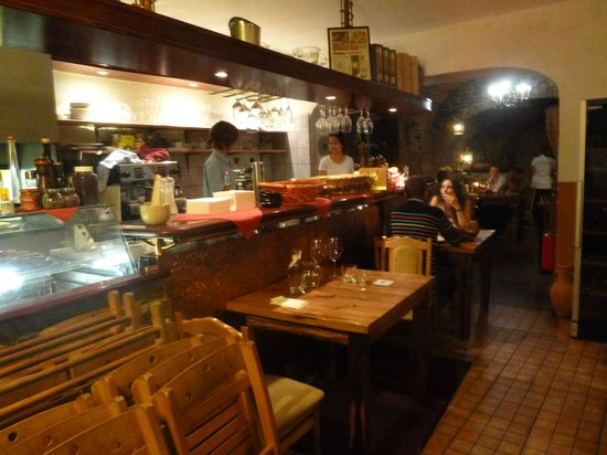 Vue du restaurant Compa