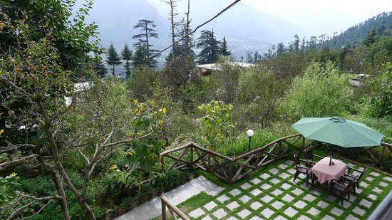OYO 12735 The Manali Lodge: view from rooftop