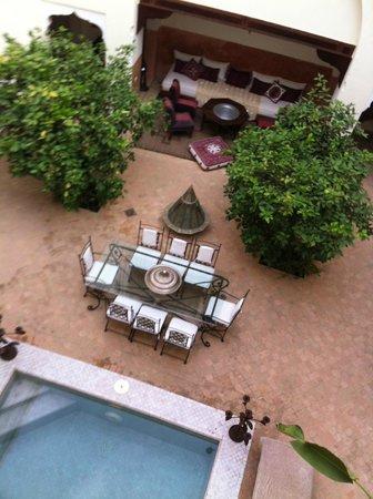 Riad du Ciel : Panorama dalla stanza