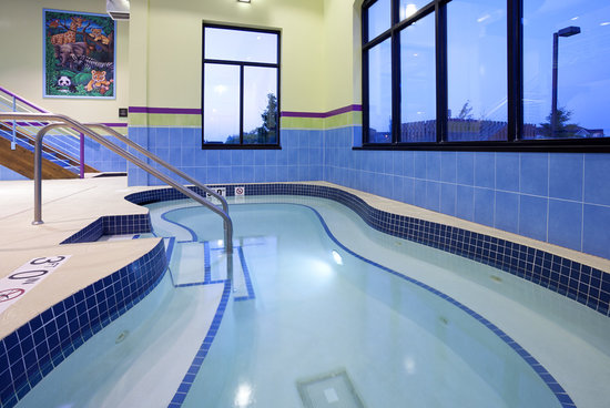 Holiday Inn Express & Suites Rogers : Hot Tub
