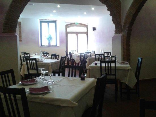 Ristorante Al Fosso Reale : sala da pranzo.