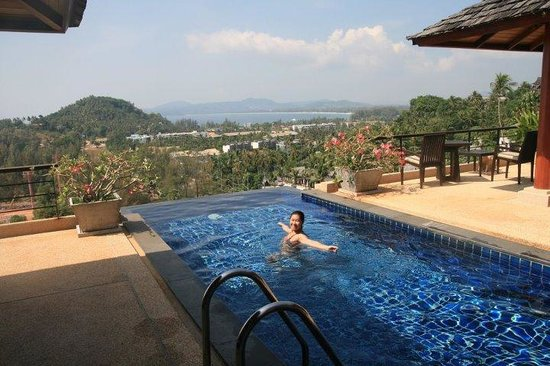 Ayara Hilltops Resort and Spa: always in the pool