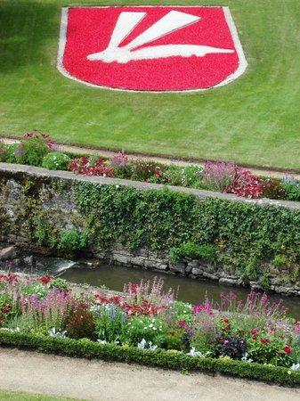 Jardin des Remparts : Lo 'scudo (floreale) di Vannes'