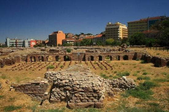 Roman Baths : Roman Bath in Ulus, Ankara