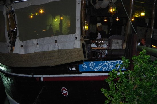 Aussenrestaurant Severin Sea Lodge