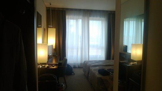 Grand Hotel de la Ville : La camera twin bed uso singola