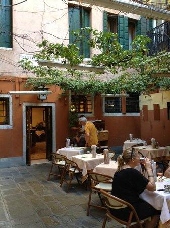 Risultati immagini per aquila nera restaurant venice