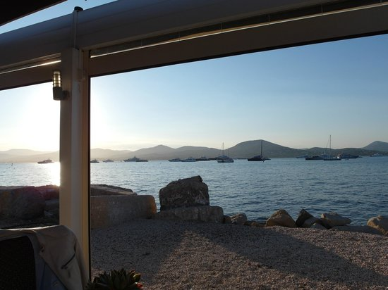 Hotel La Residence de la Pinede: The seaview