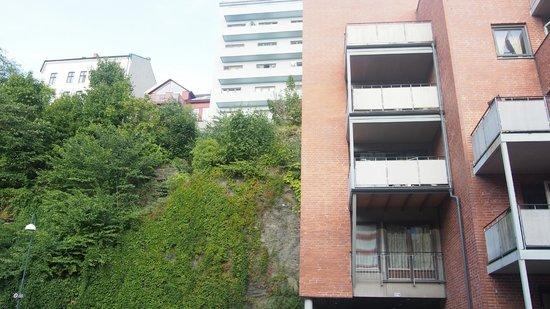 Best Western Kampen Hotell : Vistas desde la puerta del apartamento