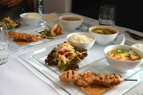 Xich Lo: Lunch platter