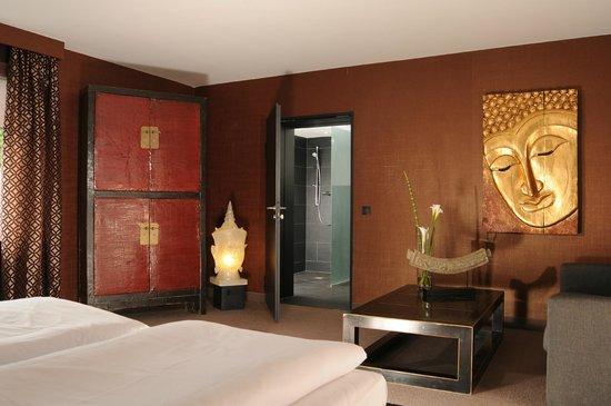 """Hotel Friends Mittelrhein: best friends room """"Asien"""""""