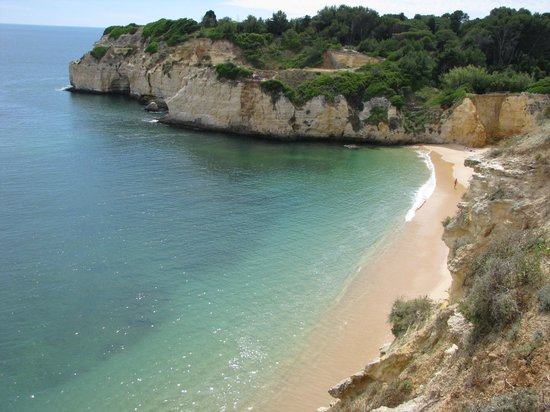 Holiday Inn Algarve - Armacao de Pera: Cliff walk 5 mins away from hotel.   Unspoilt coast.  Fragrant flowers and wildlife.   Views and