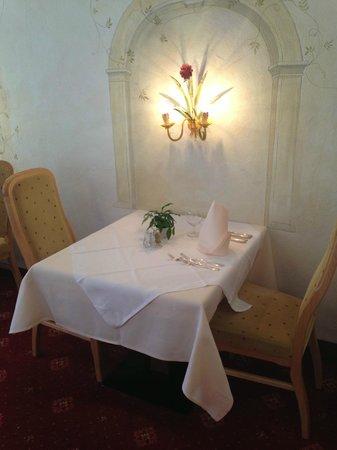 Hotel Arlberg: angolo sala risto