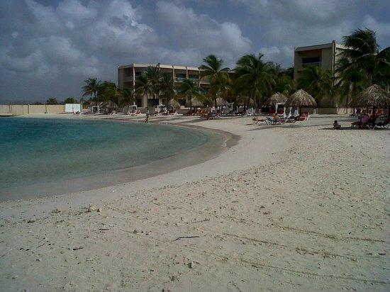 Sunscape Curacao Resort Spa & Casino: la playa....verifiquen ...sin olas