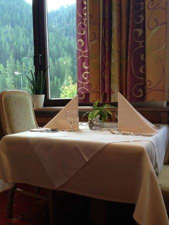 Hotel Arlberg: angolo risto