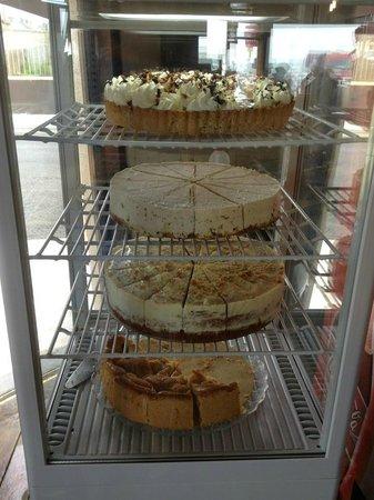 Moe's Cafe: Our Dessert Fridge