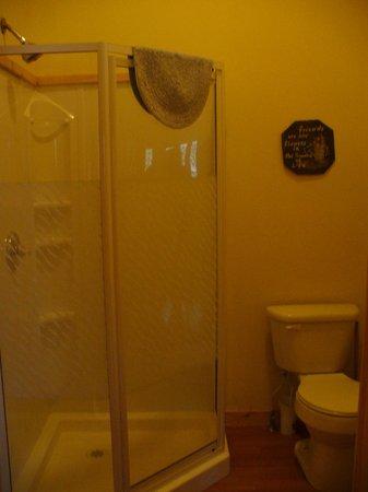 Springwood Cabins: Bathroom #1
