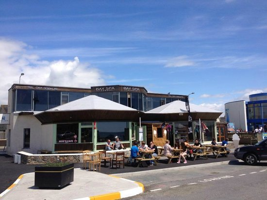 Moe's Cafe : Our Location Overlooking The Bay