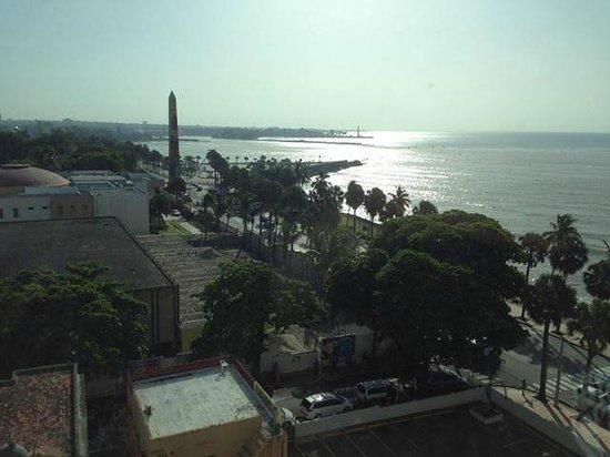 Crowne Plaza Santo Domingo: vista al mar