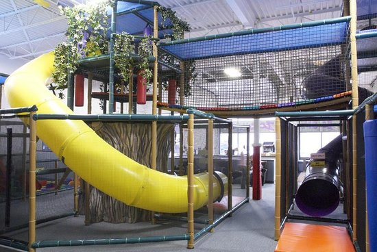 Zoom Zoom's Indoor Playground: Back view