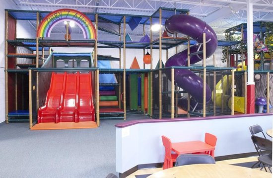 Zoom Zoom's Indoor Playground: Front view