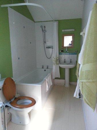 The Studio: spacious en-suite bathroom with great shower pressure :)