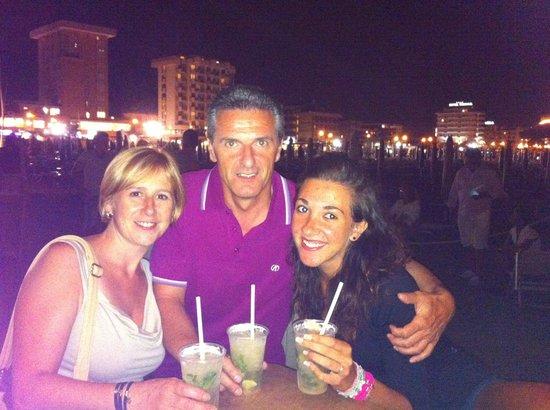 Hotel Aurea Rimini: Monzeglio Ivano,Isabella e Manuela
