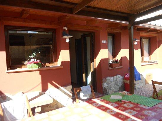 B&B La Mia Isola: Giardinetto