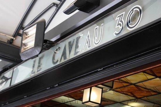 Le Caveau 30: restaurant