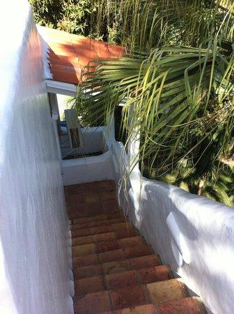 Windjammer Landing Villa Beach Resort: view from sun terrace of villa