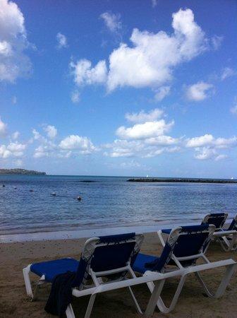 Windjammer Landing Villa Beach Resort: view from beach