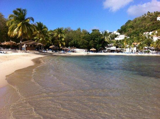 Windjammer Landing Villa Beach Resort: beach area