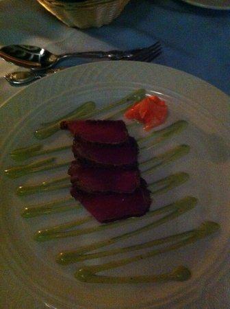 Windjammer Landing Villa Beach Resort: great food