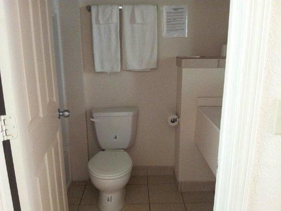 Trails Inn & Suites Motel : Bathroom