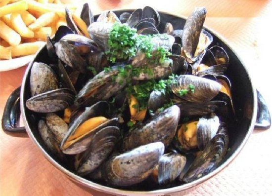 L'arin-arin : moules frites