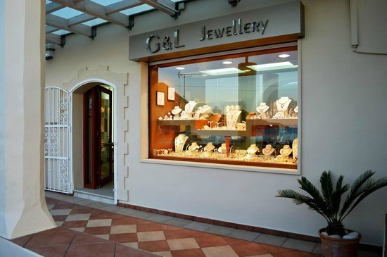 Almyrida, Greece: a great selection of gold and silver jewelleryt