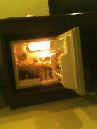 Heuang Chaleun Hotel : Холодильник с напитками (оплачиваются отдельно)