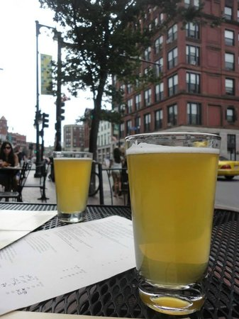 Otto: Two glasses of Allagash White