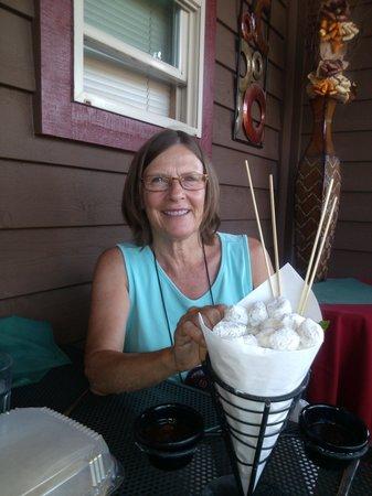 Ciao Mambo: Birthday dessert