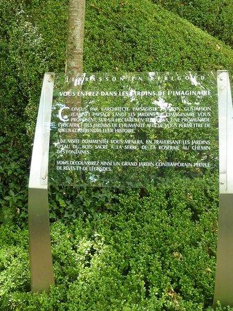 Foto de les jardins de l 39 imaginaire terrasson lavilledieu - Les jardins de l imaginaire a terrasson ...
