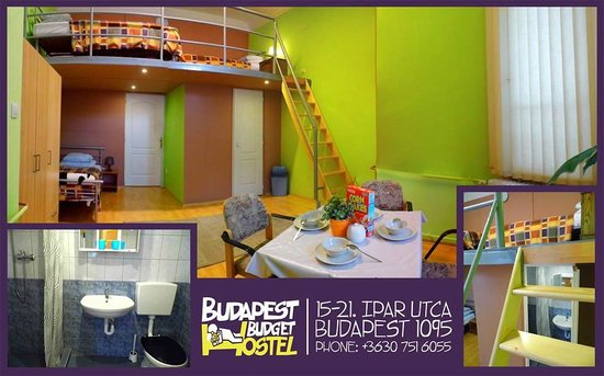Budapest Budget Hostel: Standard 4 bed private ensuite