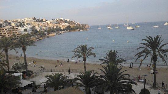 Hotel Ibiza Playa: VISTA DEL BALCON