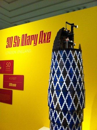 Norton Museum of Art: Lego Architecture Exhibit, August 2013
