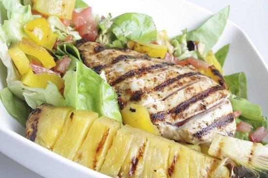 La Louviere, Belgien: Chicken salad