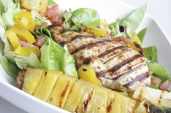 La Louviere, Belgio: Chicken salad