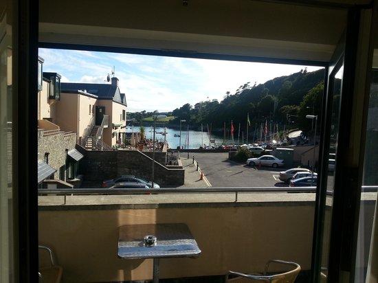 The Marine: balcony view